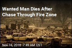Cops Shoot Wanted Felon After Chase Through Fire Zone