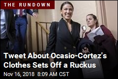 Tweet About Ocasio-Cortez's Clothes Sets Off a Ruckus
