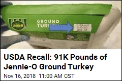 USDA Recall: 91K Pounds of Jennie-O Ground Turkey