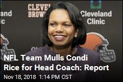 The Browns Could Hire Condi Rice as Coach: Report