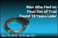 Man Who Fled on Final Day of Trial Found 10 Years Later