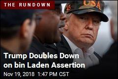 Trump Slams Admiral Who Got bin Laden