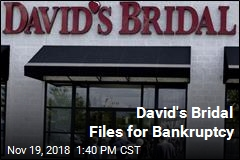 David's Bridal Files for Bankruptcy