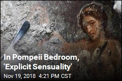 Archaeologists Uncover Sensual Fresco in Pompeii Bedroom