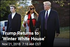 Trump Returns to 'Winter White House'