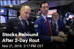 Stocks Rebound After 2-Day Rout
