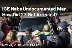 Undocumented Man, 27 Supporters All Arrested