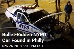 Cops Shocked to Find Shot-Up NYPD Car in Philly