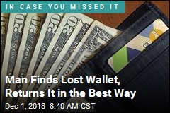 His Lost Wallet Came Back, With Something Extra Inside