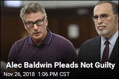 Alec Baldwin Pleads Not Guilty