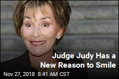 Judge Judy Has a New Reason to Smile