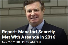 New Manafort Trouble: Report of Secret Talks With Assange