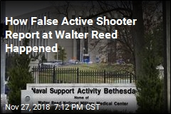 How False Active Shooter Report at Walter Reed Happened