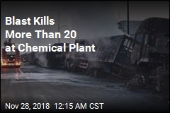 Blast Kills 22 at China Chemical Plant