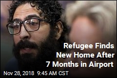 Refugee Finds New Home After 7 Months in Airport