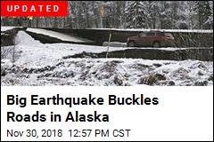Strong Earthquake Rattles Alaska