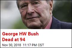 George HW Bush Dead at 94