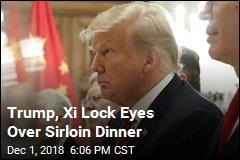 World Watches as Trump, Xi Talk Trade Over Sirloin