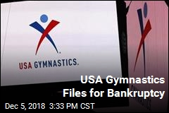USA Gymnastics Files for Bankruptcy