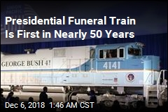 Bush Will Have First Presidential Funeral Train Since Eisenhower
