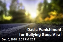 Dad's Bullying Punishment Goes Viral