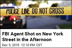 FBI Agent Shot on New York Street in the Afternoon