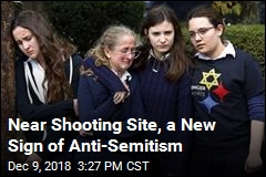 Anti-Semitic Papers Emerge Near Shooting Site