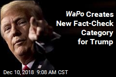 WaPo Creates New Fact-Check Category for Trump
