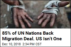 85% of UN Nations Back Migration Deal. US Isn't One
