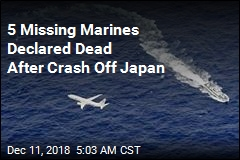 5 Missing Marines Declared Dead After Crash Off Japan