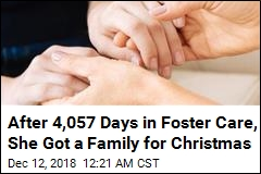 After 4,057 Days in Foster Care, She Got a Family for Christmas