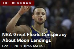 NBA Great Floats Conspiracy About Moon Landings