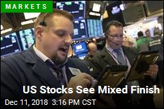 US Stocks See Mixed Finish