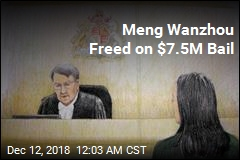 Meng Wanzhou Freed on $7.5M Bail