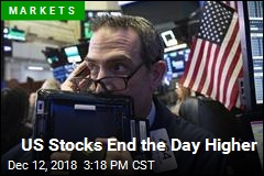 US Stocks End the Day Higher