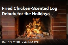 Fried Chicken-Scented Log Debuts for the Holidays