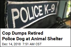 K9 Handler Demoted After Leaving Dog at Animal Shelter
