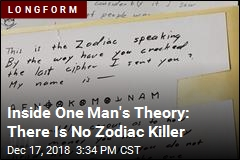 Inside One Man's Theory: There Is No Zodiac Killer