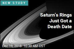Saturn's 'Rain' Is Quickly Killing Its Rings