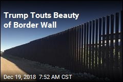 Trump Touts Beauty of Border Wall