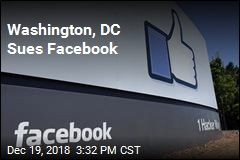 DC Sues Facebook Over Data Scandal