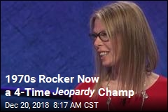 Ex-Rock Star Becomes 4-Time Jeopardy Champ