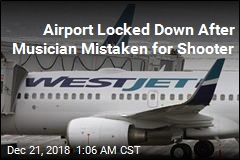 Cops: Musician Mistaken for Active Shooter at Airport