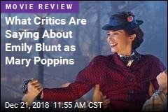 Mary Poppins Returns on a High Note