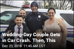 Wedding-Day Couple Gets in Car Crash. Then, This
