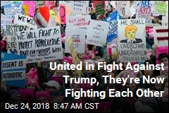 United in Fight Against Trump, They're Now Fighting Each Other