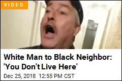 White New Yorker Verbally Accosts Black Neighbor