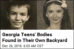 Georgia Teens' Bodies Found in Their Own Backyard