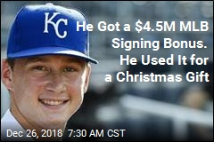 MLB Prospect's Christmas Gift to Parents: Your Debt Is Gone