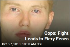 Cops: Fight Leads to Fiery Feces
